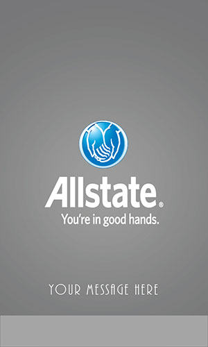 Gray Allstate Business Card - Design #201321
