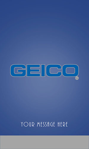 Blue Geico Business Card - Design #203052