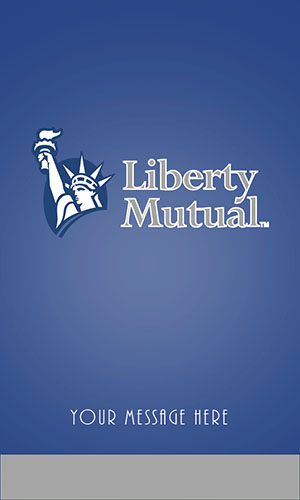 Blue Liberty Mutual Business Card - Design #207051