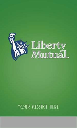 Green Liberty Mutual Business Card - Design #207053