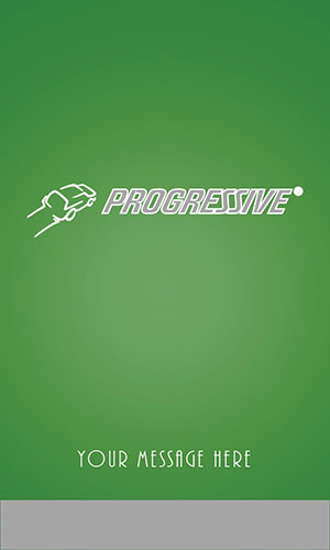 Green Progressive Business Card - Design #208053