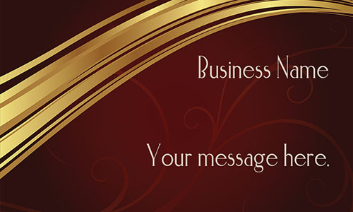 Brown Event Planning Business Card - Design #2301061