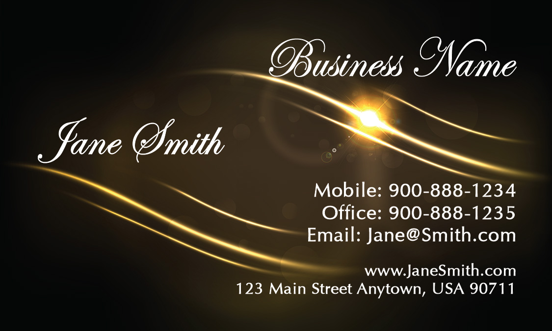 Brown Event Planning Business Card Design 2301071
