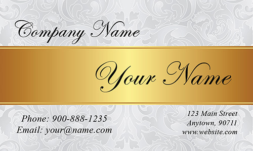 White Event Planning Business Card - Design #2301171