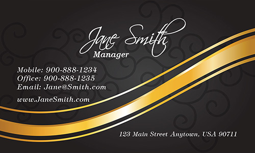 Yellow Florist Business Card - Design #2401031