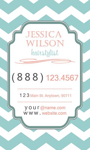 Blue Florist Business Card - Design #2401091