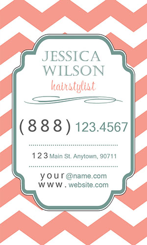 Pink Florist Business Card - Design #2401092