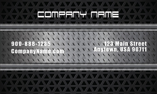 Black Mechanic Business Card - Design #2501051