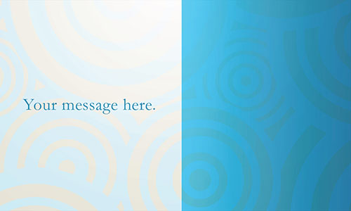 Blue Marketing Business Card - Design #2601051
