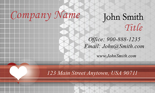 Cardiology Clinic Business Card - Design #301021