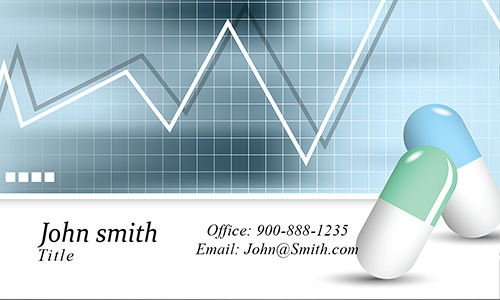 Drug Store Business Card - Design #301101