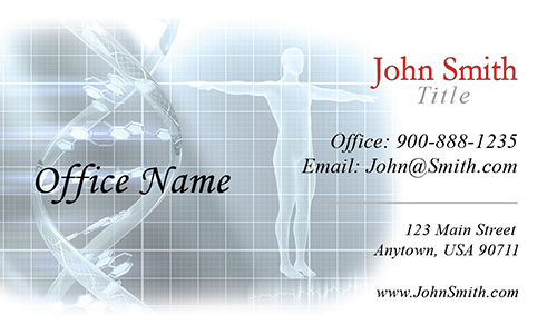 Medical Laboratory Business Card - Design #301131