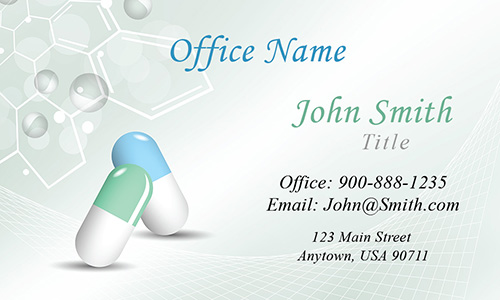 Pharmacy and Pharmaceutical Business Card - Design #301161