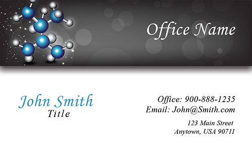 Testing Laboratory Business Card - Design #301191