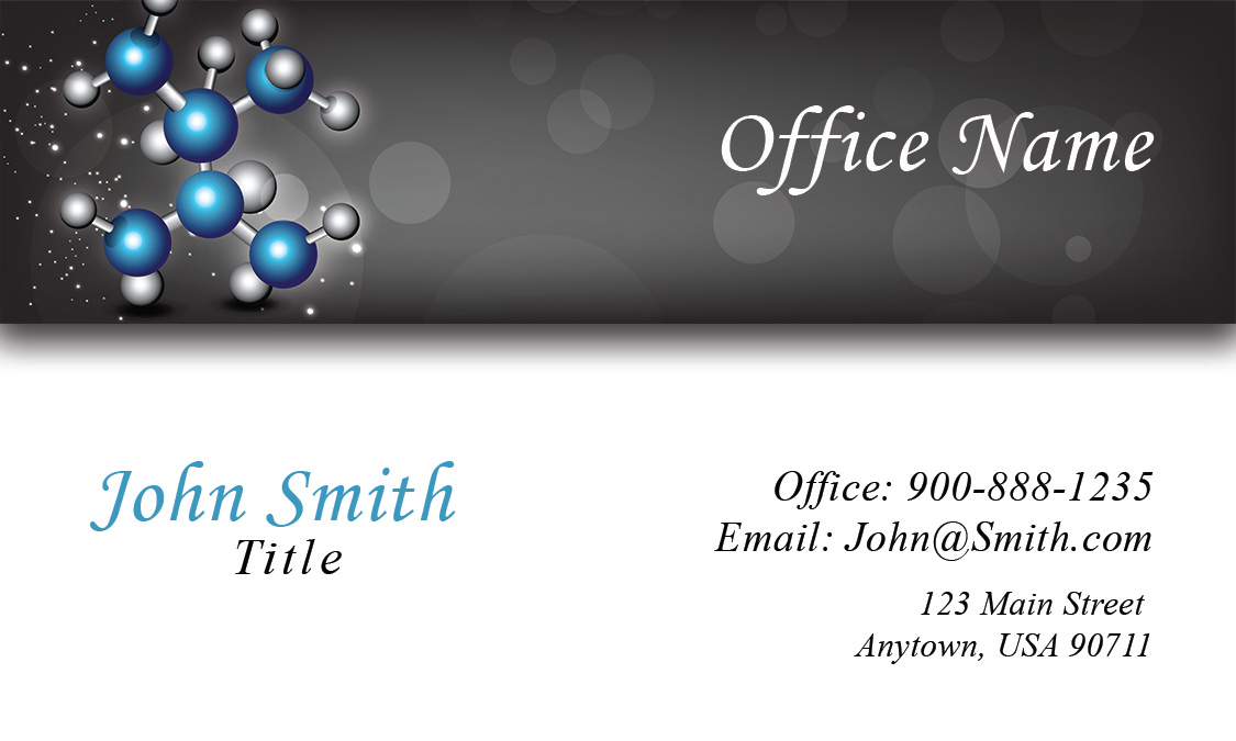 Laboratory Business Card - Design #301191