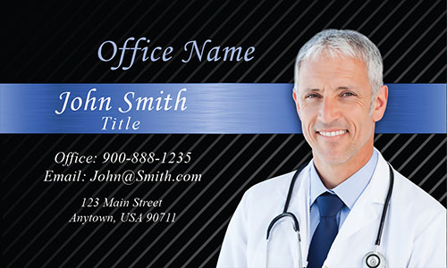 Dermatology Doctor Business Card - Design #301271