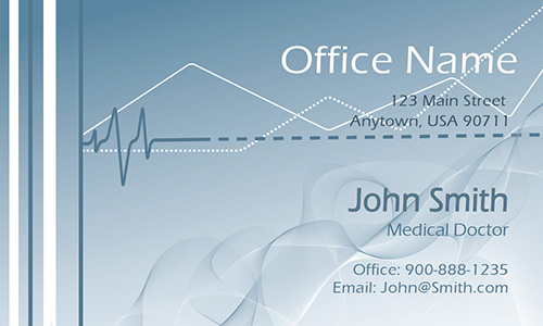 Medical Doctor Business Card - Design #301401