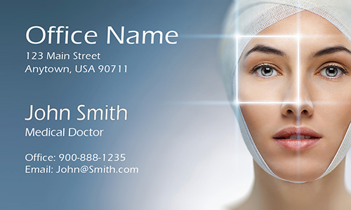 Plastic Surgeon Business Card - Design #301431