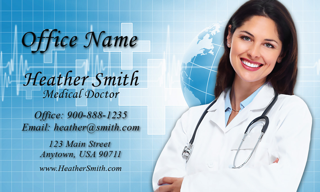 and Health Care Business Card - Design #301451