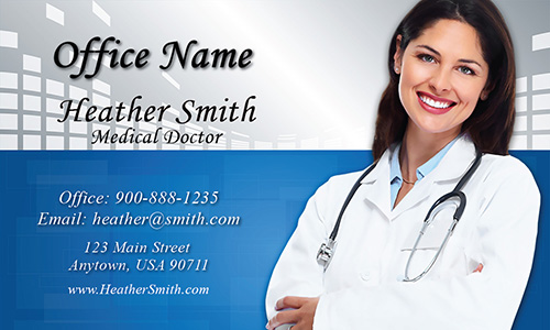 Medical Assistant Business Card - Design #301461