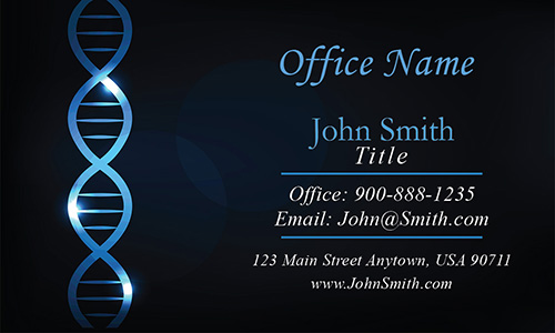 DNA Testing Laboratory Business Card - Design #301521