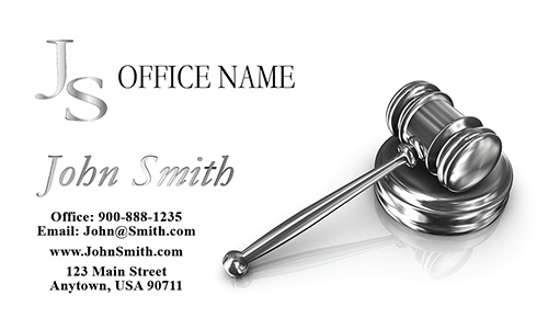 Property and Real Estate Law Attorney Business Cards - Design #401081