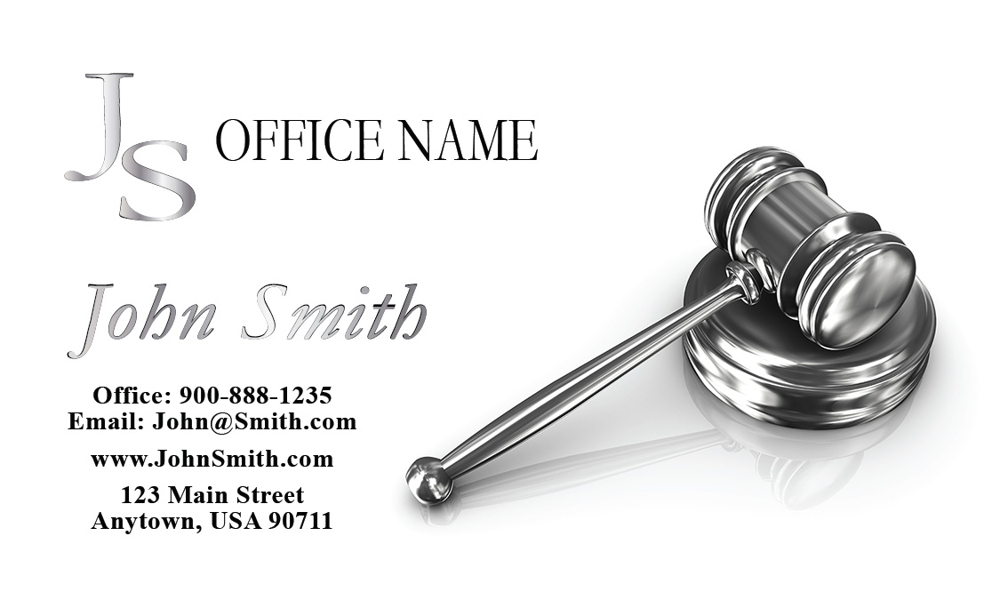 Property and real estate law attorney business cards design 401081 colourmoves