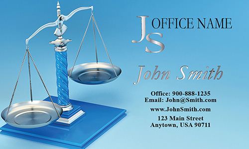 Family and Divorce Lawyer Business Card - Design #401091