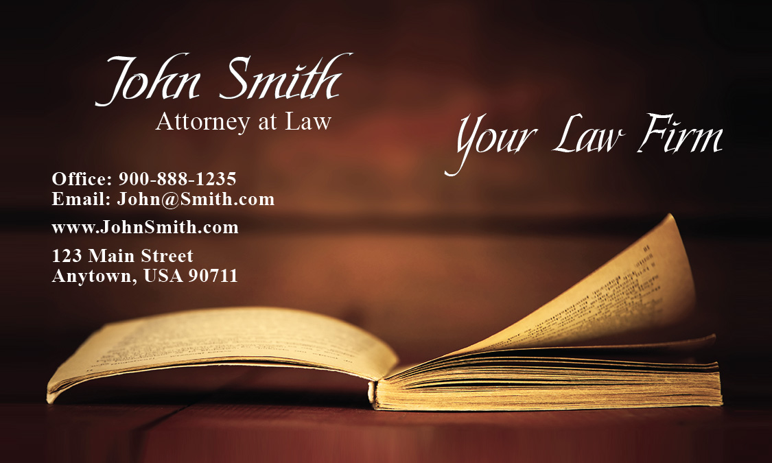 Law School Business Card - Design #401211