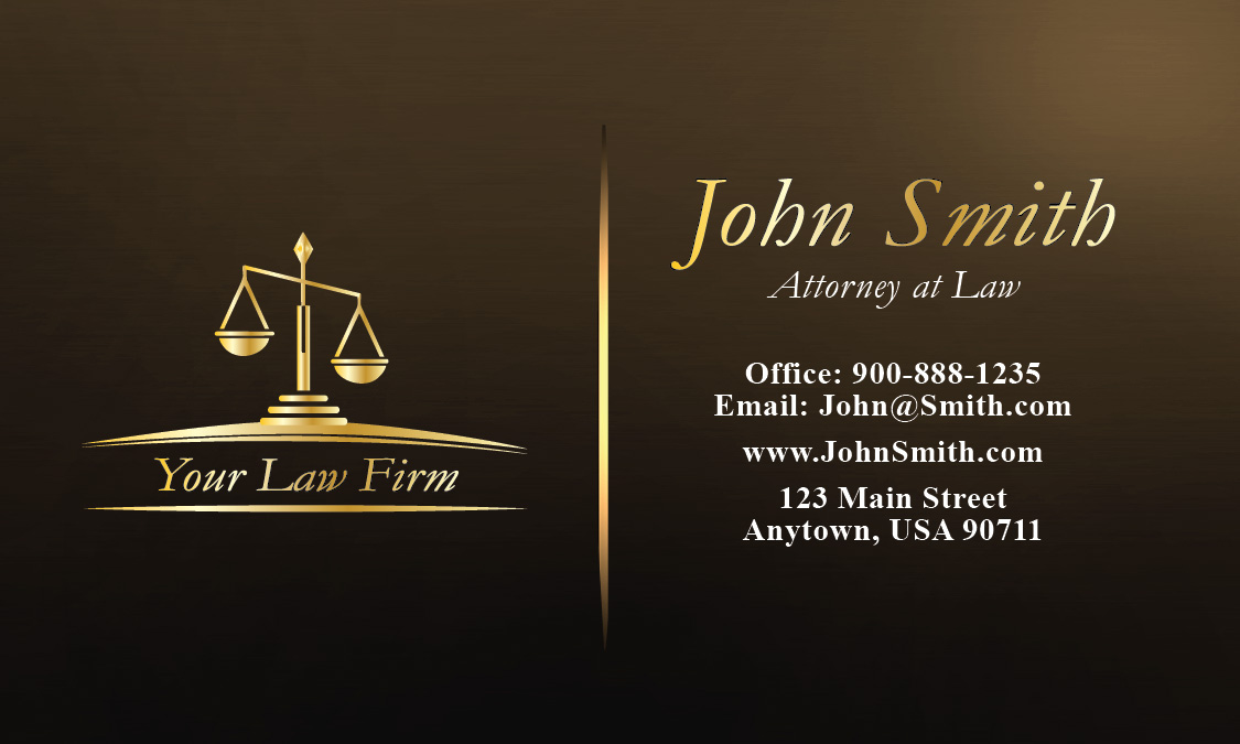 business card design legal gallery   card design and card
