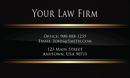 Legal Business Cards | Law Office & Attorney Templates