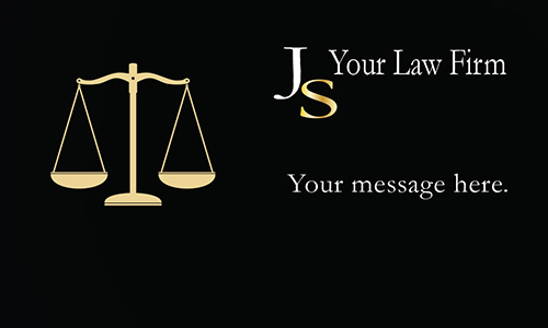 Most Creative Attorney Business Card - Design #401311