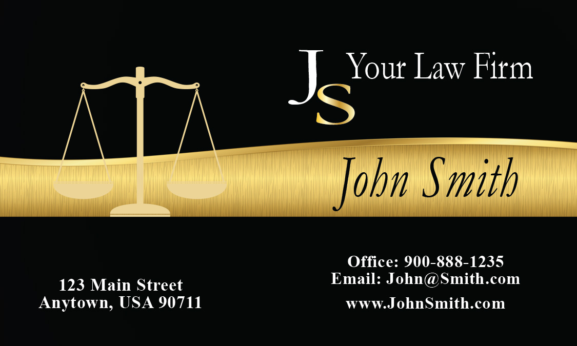 Most creative attorney business card design 401311 wajeb