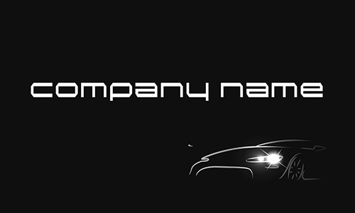Car Dealer Automotive Business Card - Design #501011