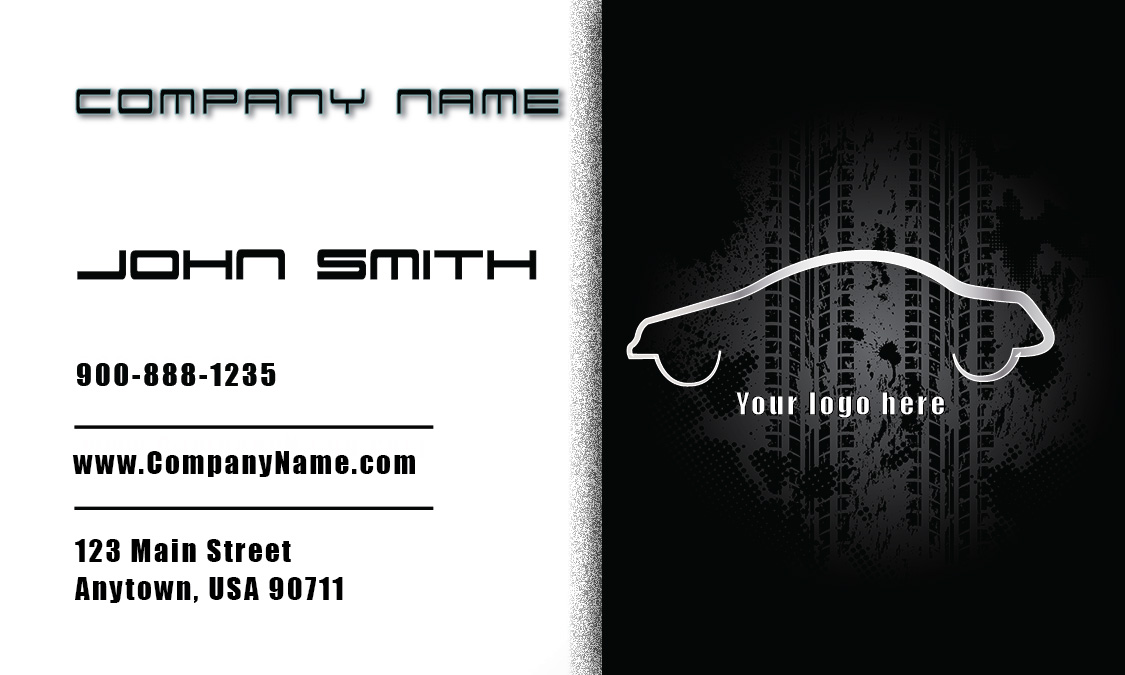 automotive repair business cards