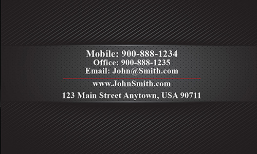 Full Color Automotive Business Card - Design #501161