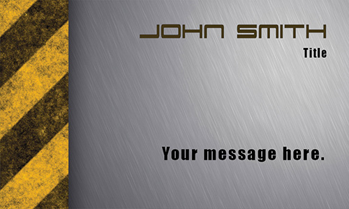 Metal Mode Repair Shop Business Card - Design #501221