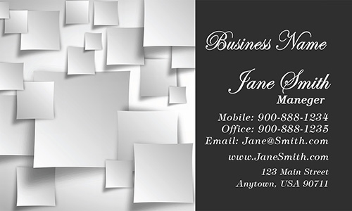 Trendy Salon Business Card - Design #601211