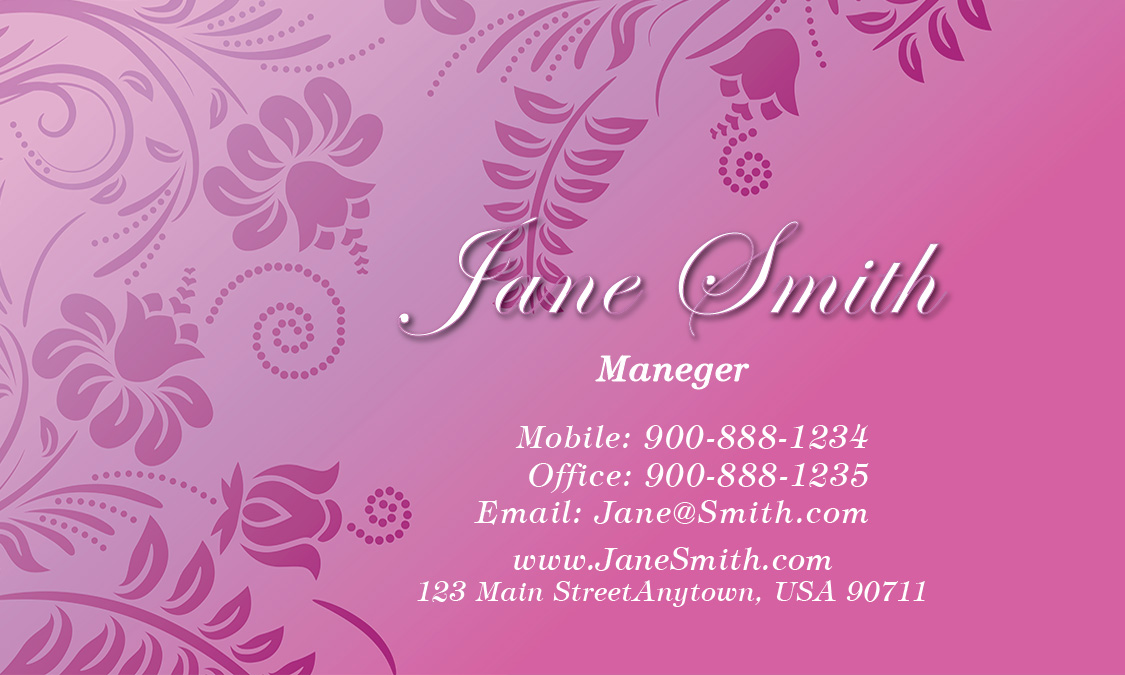 Theme Business Card - Design #601241