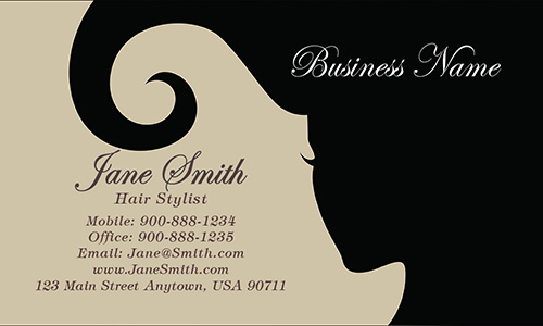 Spa and Salon Business Card - Design #601271
