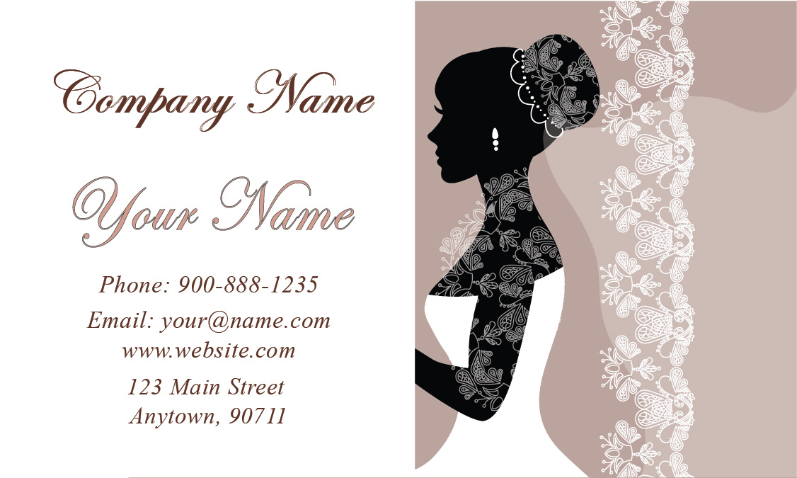 Wedding Planner Business Card - Design #701121