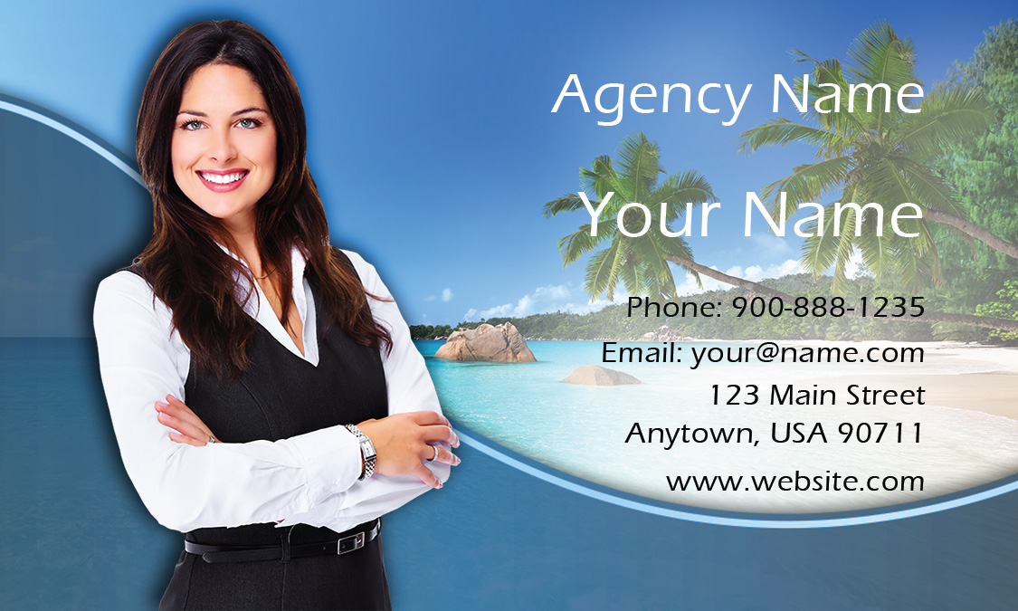 Travel agency business card design 901141 exotic travel agency business card design 901141 wajeb Choice Image