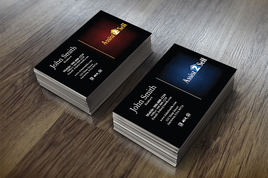 Assist 2 Sell Agent Business Cards