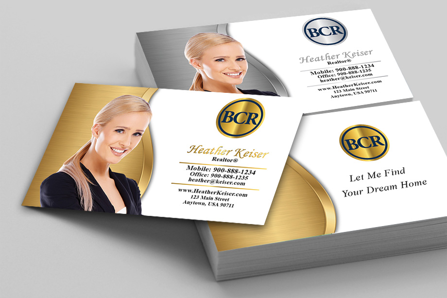 BCR Realtors Agent Business Cards