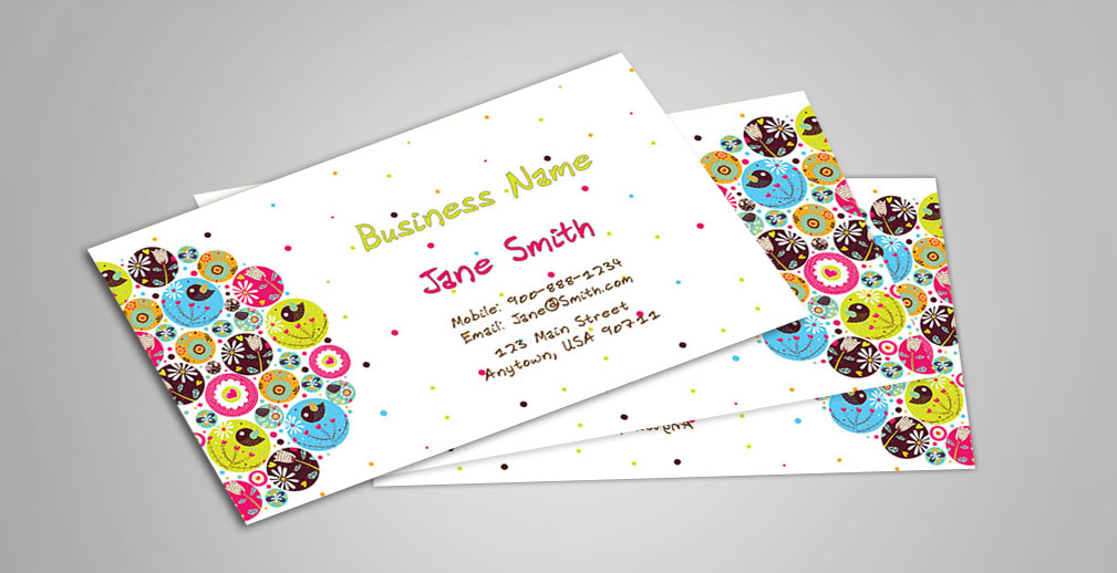 Custom Babysitting Business Cards