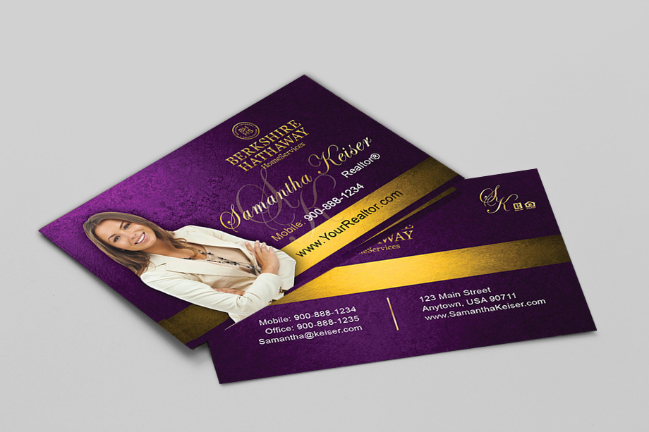 Berkshire Hathaway Agent Business Cards