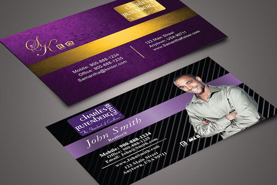 Charles Rutenberg Realty Agent Business Cards