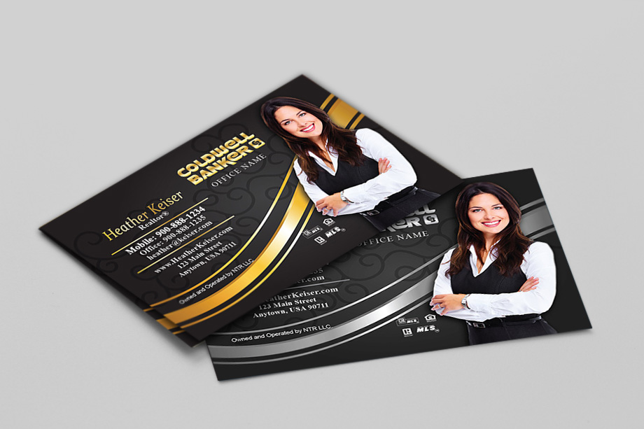 Coldwell Banker FREE Online Business Card Templates FREE Ship - Business card template free online