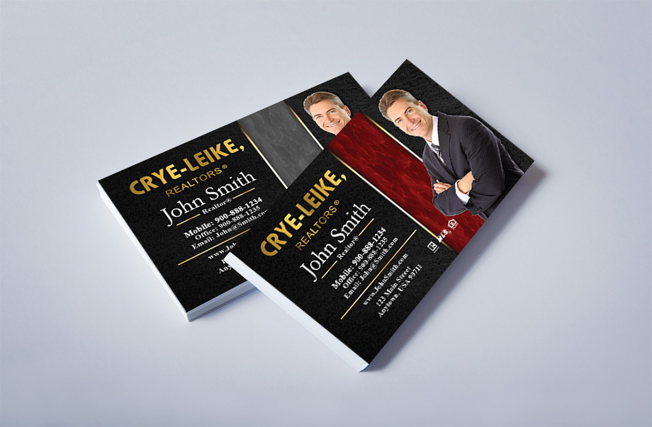 Crye Leike Realtors Agent Business Cards