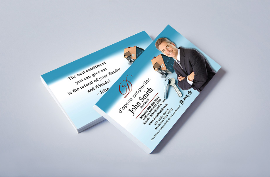 D'aprile Properties Agent Business Cards